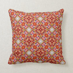Sunset Shadows Medium Repeat Throw Pillow