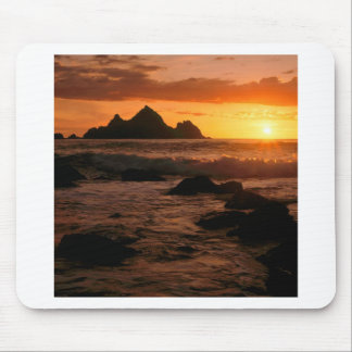 Sunset Shelter Cove California Mouse Pad