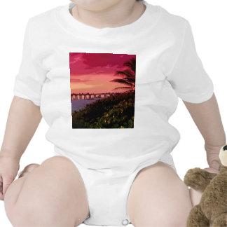 sunset shock baby creeper