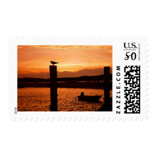 sunset shot postage
