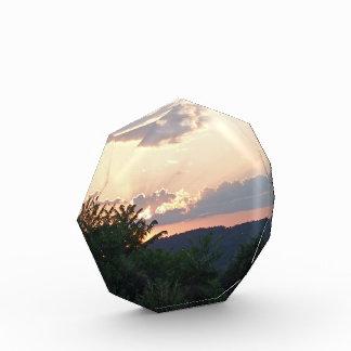 Sunset Silhouette Acrylic Award