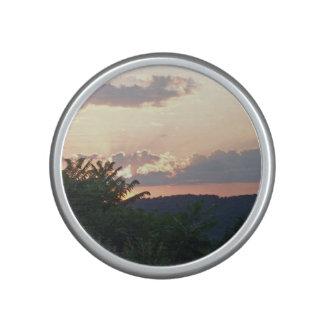 Sunset Silhouette Bluetooth Speaker