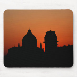 Sunset Silhouette Mouse Pad