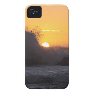 Sunset Silhouette Ocean Splash Case-Mate iPhone 4 Case