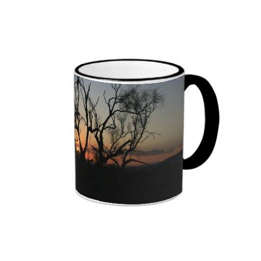 Sunset Silhouette Ringer Mug