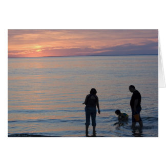 Sunset Silhouettes Card