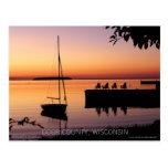 Sunset Silhouettes Postcard