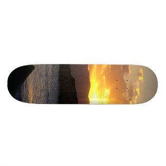 Sunset Skateboard Deck