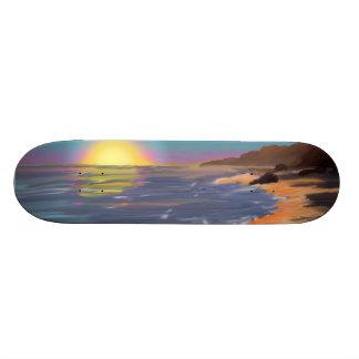 Sunset Skating Custom Skateboard