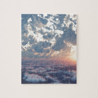 Sunset Skies Jigsaw Puzzle