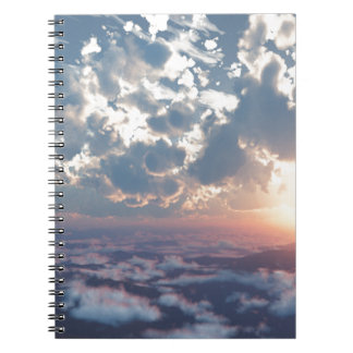 Sunset Skies Notebook