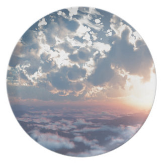 Sunset Skies Party Plate