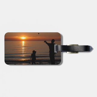 Sunset Skimming Tags For Bags
