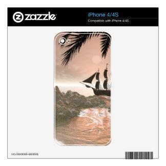 Sunset iPhone 4S Skin
