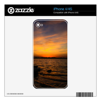 Sunset iPhone 4 Skin