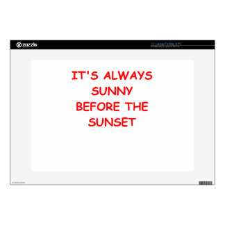 sunset decals for laptops