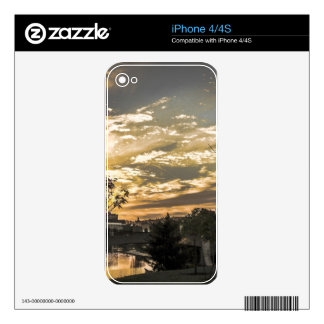 Sunset iPhone 4S Decal