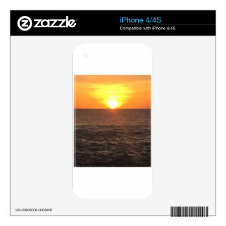 SUNSET SKIN FOR THE iPhone 4