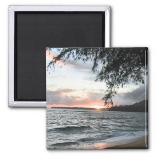 Sunset Sky 2 Inch Square Magnet
