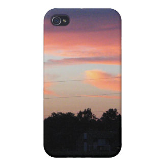 Sunset Sky Cases For iPhone 4