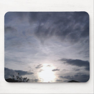Sunset sky mouse pad