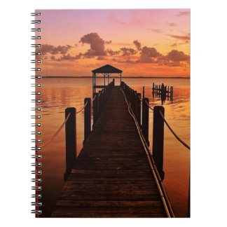 Sunset Sky Notebook