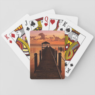 Sunset Sky Playing Cards