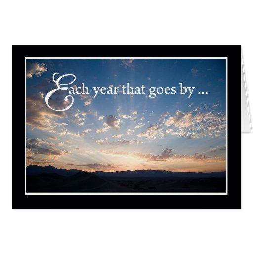Sunset Sky Religious Birthday Card