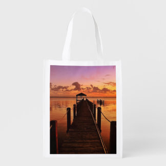 Sunset Sky Reusable Grocery Bag