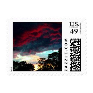 Sunset Sky Stamp