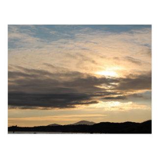 Sunset Skyscape Postcard