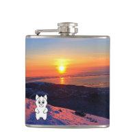 Sunset Snow Beast Reviews Flask