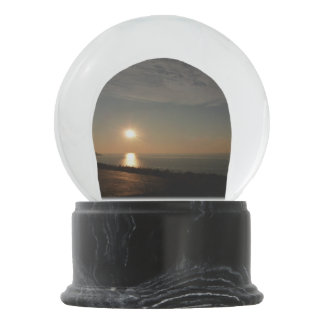 Sunset Snow Globe