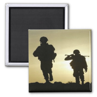 Sunset Soldiers Magnet