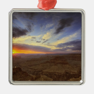 Sunset, south rim of the Grand Canyon, Grand Metal Ornament