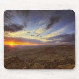 Sunset, south rim of the Grand Canyon, Grand Mouse Pad
