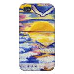 Sunset Spec Case iPhone 4/4S Cover