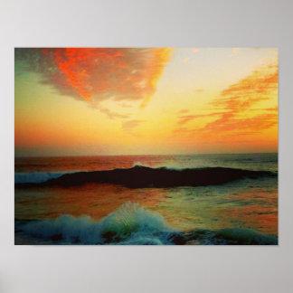 Sunset Splash of Color Poster