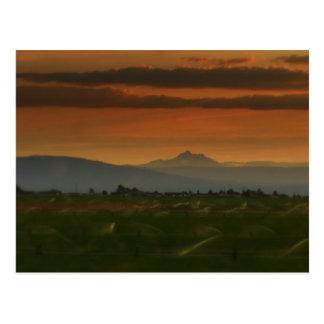 sunset sprinkers #2 postcard