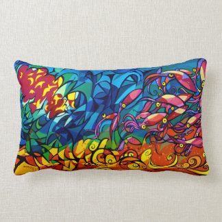 Sunset Squid Pillows