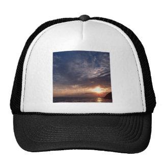 Sunset St Bees Cumbria Trucker Hat