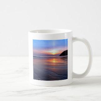 Sunset St Bees Footprint Coffee Mug