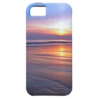 Sunset St Bees Footprint iPhone SE/5/5s Case