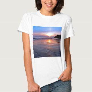 Sunset St Bees Footprint Shirt