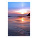 Sunset St Bees Footprint Stationery