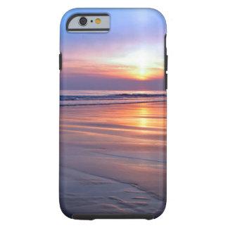 Sunset St Bees Footprint Tough iPhone 6 Case