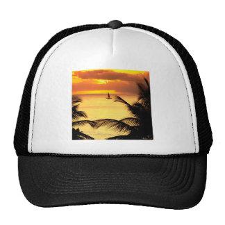 Sunset St Lucia Mesh Hats