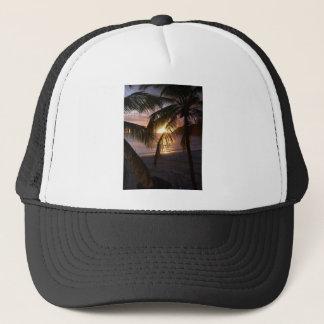 Sunset St. Martin Trucker Hat