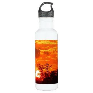 Sunset Stainless Steel Water Bottle