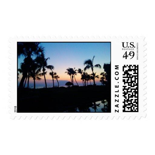 Sunset Stamp